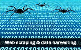 Data Extraction, Data Harvesting, Web Crawling & Web Scraping